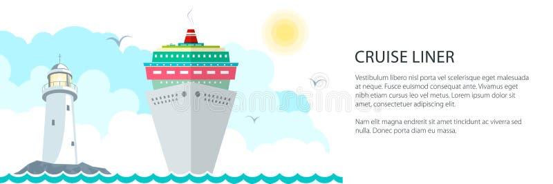 Havsresabaner vektor illustrationer