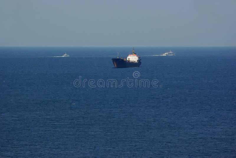 havsship royaltyfri bild