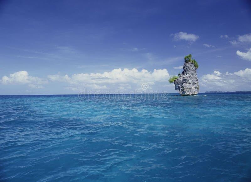 havssikt arkivbild