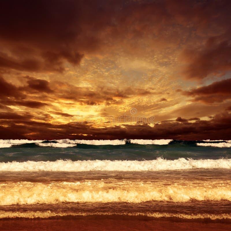 Havssolnedgång