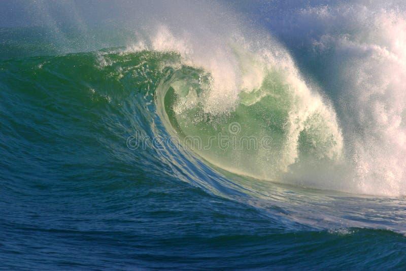 havvattenwave royaltyfria foton