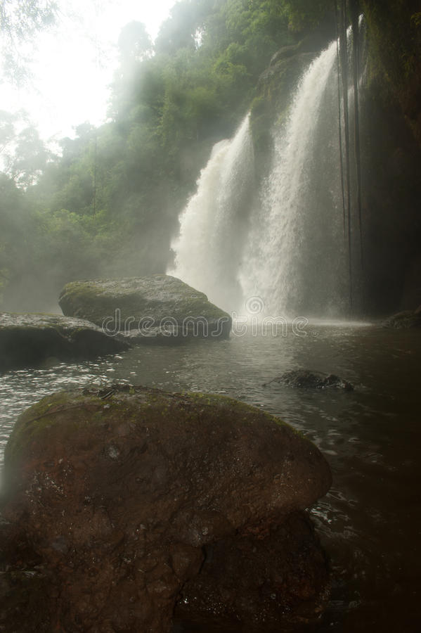 Download Haw Su Wat Waterfall In National Park,Thailand. Stock Photo - Image: 26098920