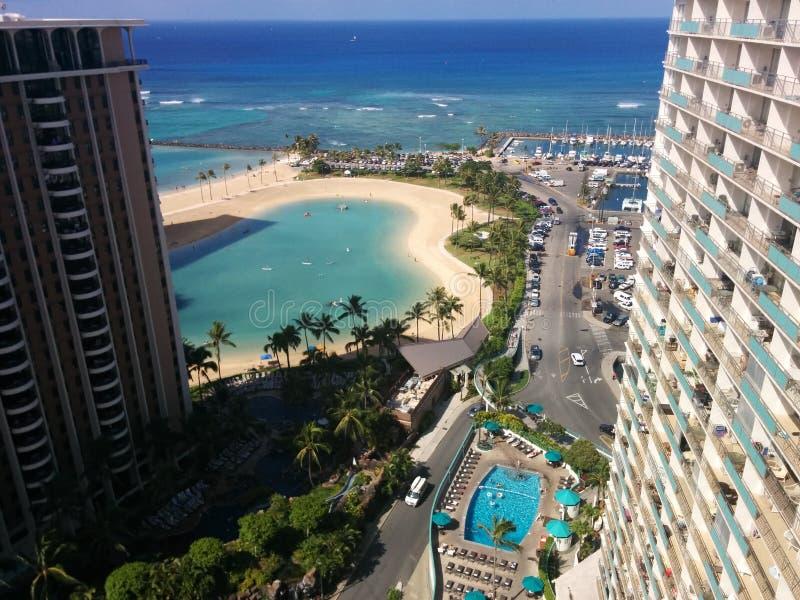 Hawaï Honolulu stock afbeeldingen