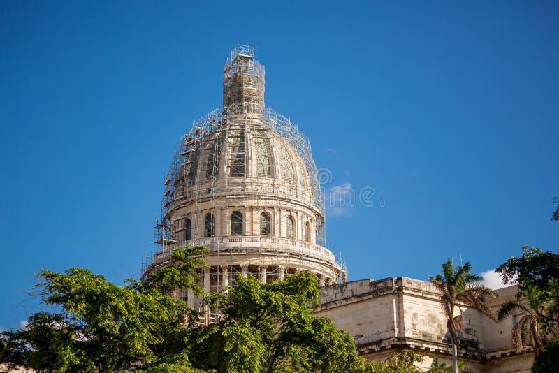 Hawański Capitol, Kuba zdjęcia stock
