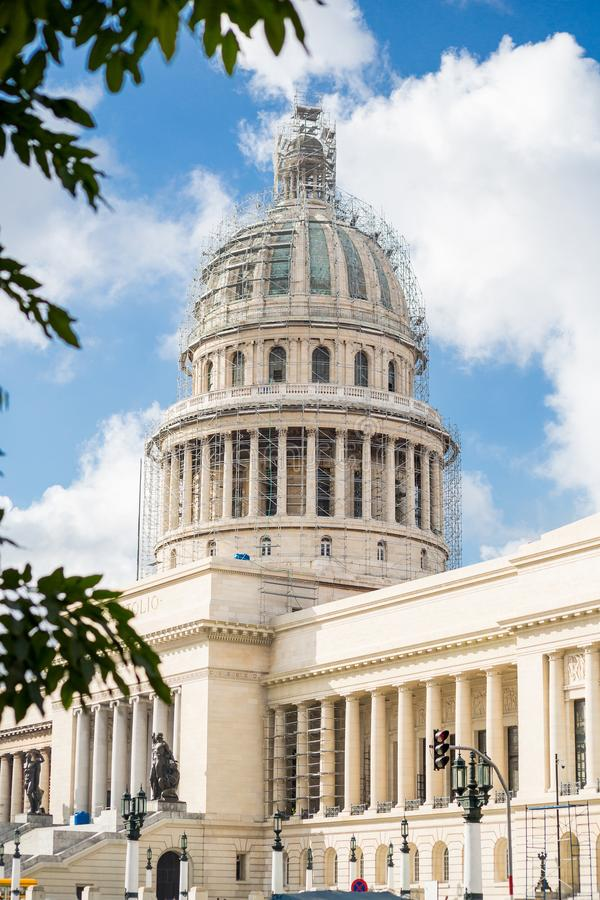 Hawański Capitol, Kuba obraz stock