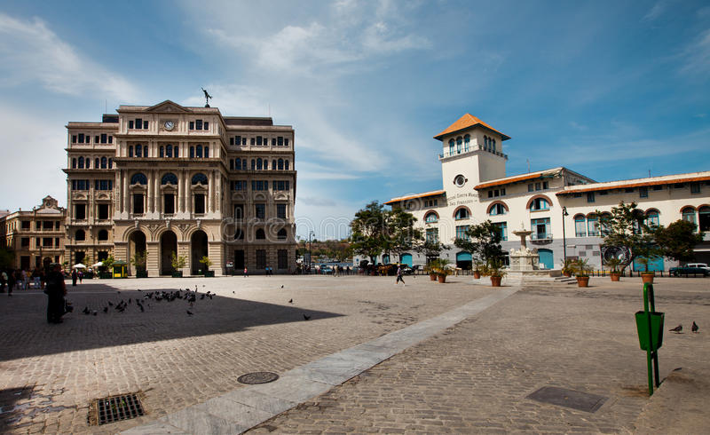 HAWAŃSKI, KUBA, CZERWIEC - 7, 2011: Hawański miasto, 7th 2011 obraz royalty free