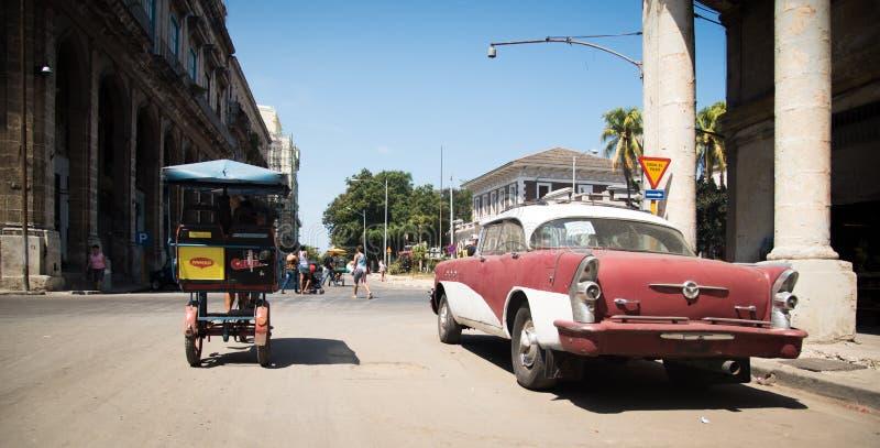 Hawański miasto Kuba obrazy royalty free