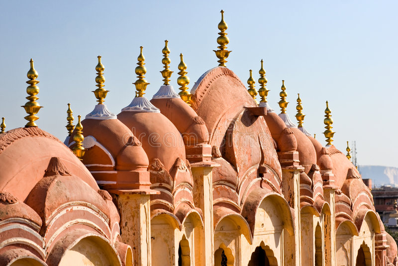 hawa Индия jaipur mahal стоковая фотография rf