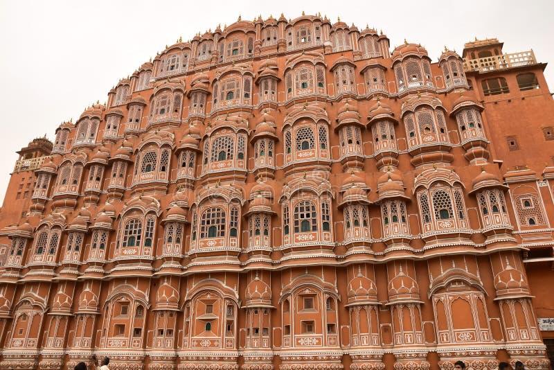 Hawa-Maha, Ινδία, Jaipur στοκ εικόνες με δικαίωμα ελεύθερης χρήσης