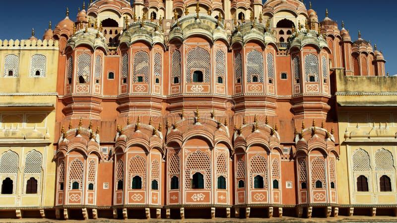 Download Hawa Mahal photo stock. Image du maharaja, symétrie, histoire - 45359254