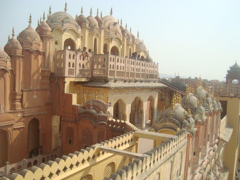 Hawa Mahal dans CITY-JAIPUR ROSE image stock