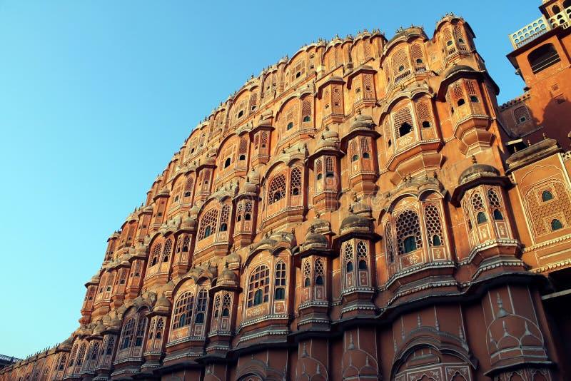 Hawa Mahal en Jaipur, la India foto de archivo libre de regalías