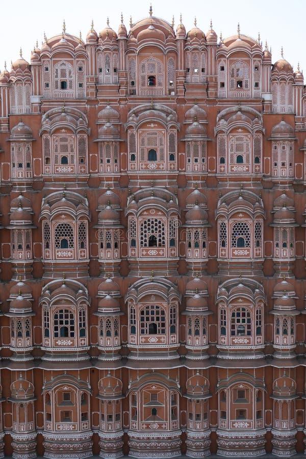 Hawa Mahal in India stock afbeeldingen