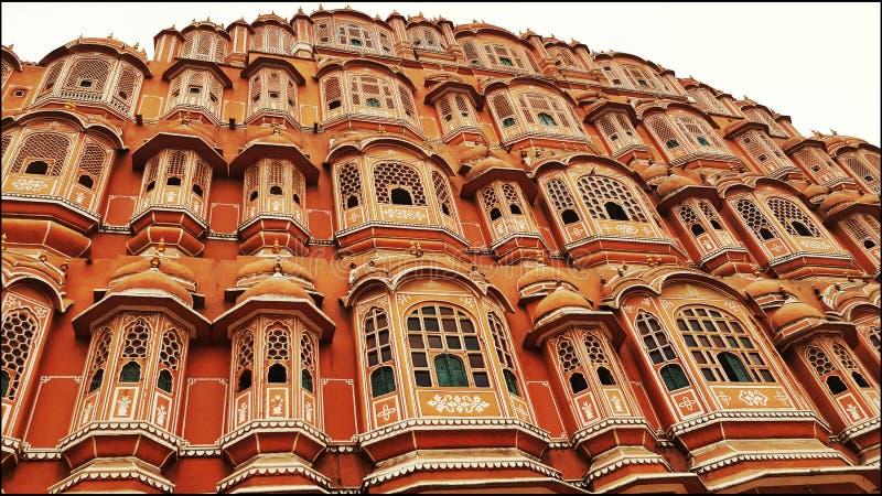 Hawa Mahal Jaipur royaltyfri bild