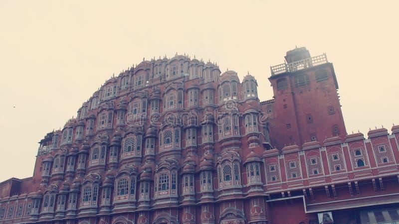 Hawa Mahal Jaipur stock foto's