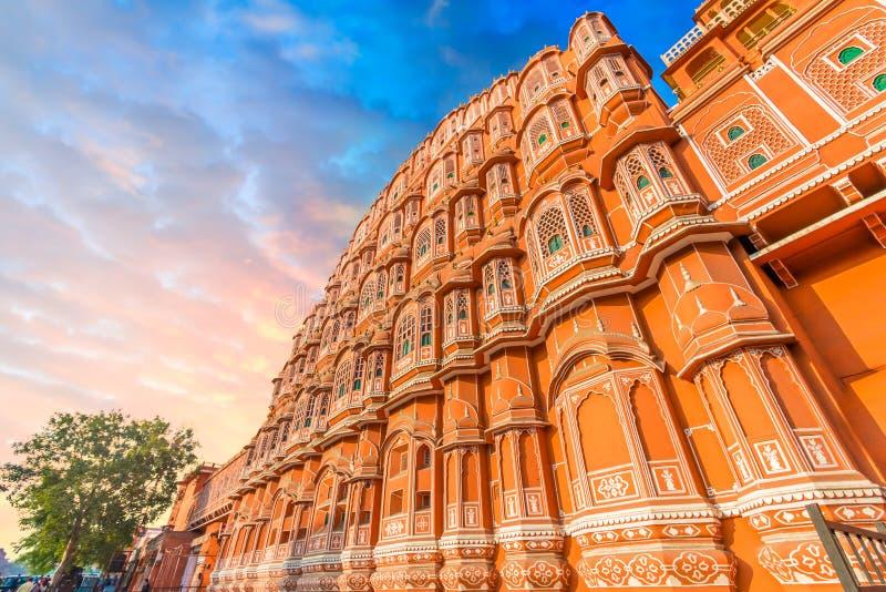 Hawa Mahal - Jaipur lizenzfreies stockbild