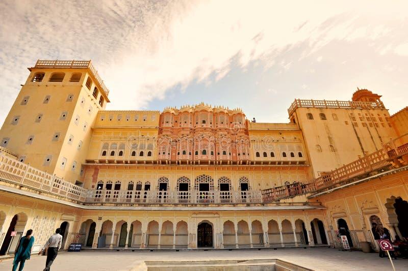 Hawa Mahal, Jaipur, Inde. photos stock