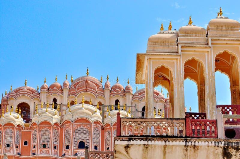 Hawa Mahal, Jaipur, India. royalty-vrije stock afbeeldingen