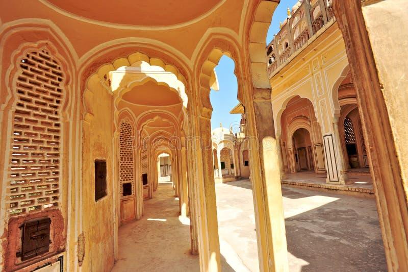 Hawa Mahal, Jaipur, India. stock afbeelding