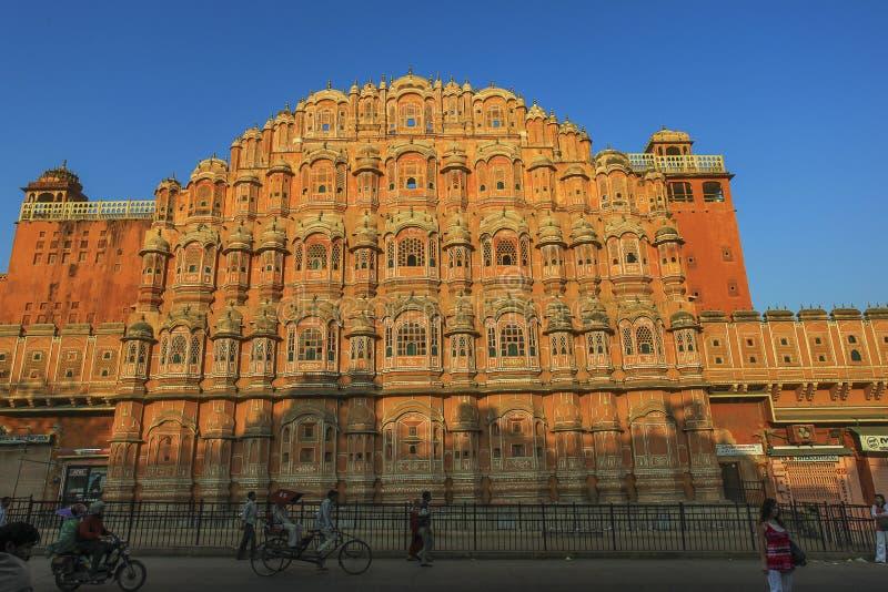 Hawa Mahal Jaipur India royalty free stock photography