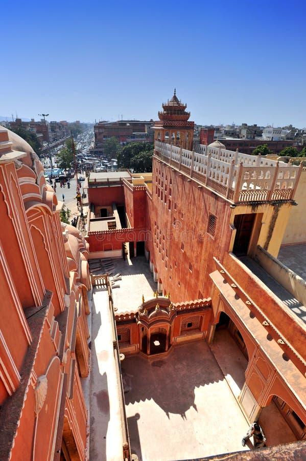 Hawa Mahal, Jaipur, la India. imagen de archivo libre de regalías