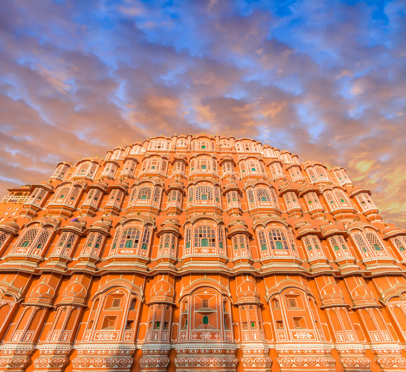 Hawa Mahal - Jaipur royalty free stock photos