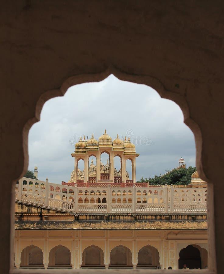 Hawa Mahal In Jaipur,(Rajasthan). royalty free stock photo