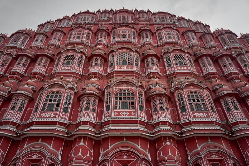 Hawa Mahal Jaipur Rajasthan India fotografia stock