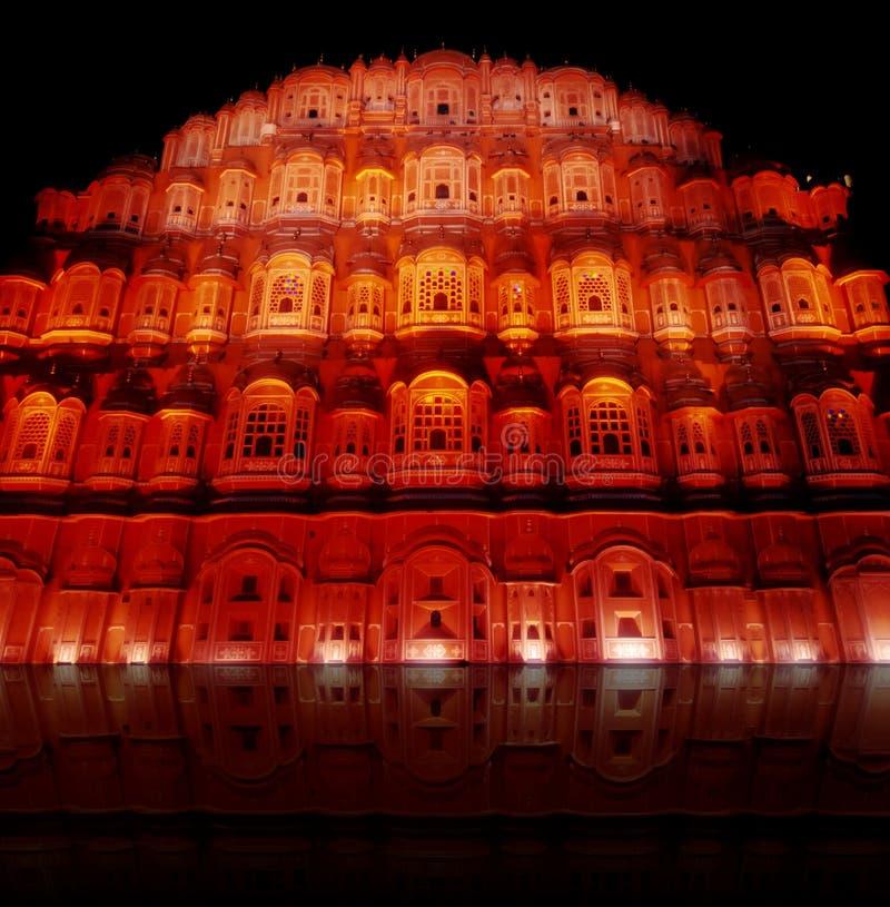 Hawa Mahal Jaipur royalty-vrije stock afbeeldingen
