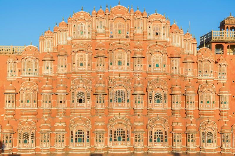 Hawa Mahal - palácio dos ventos em Jaipur imagens de stock