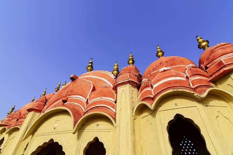 Hawa Mahal Palace et x28 ; Palais de Winds& x29 ; , point de repère célèbre de Jaipur photos libres de droits