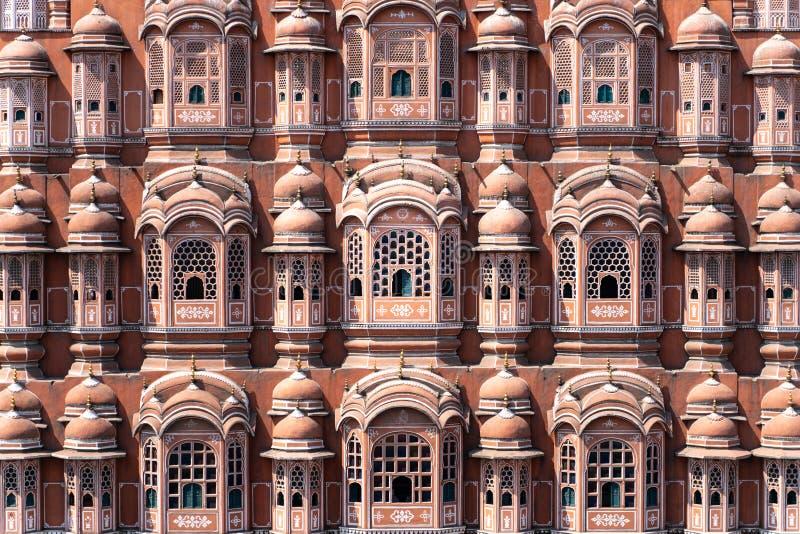 The Hawa Mahal - palace in Jaipur stock photo