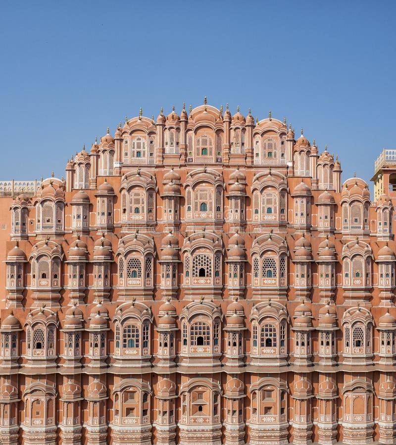 Hawa Mahal palace Palace of the Winds, Jaipur, Rajasthan Indaia. Hawa Mahal palace Palace of the Winds, Jaipur, Rajasthan royalty free stock photo