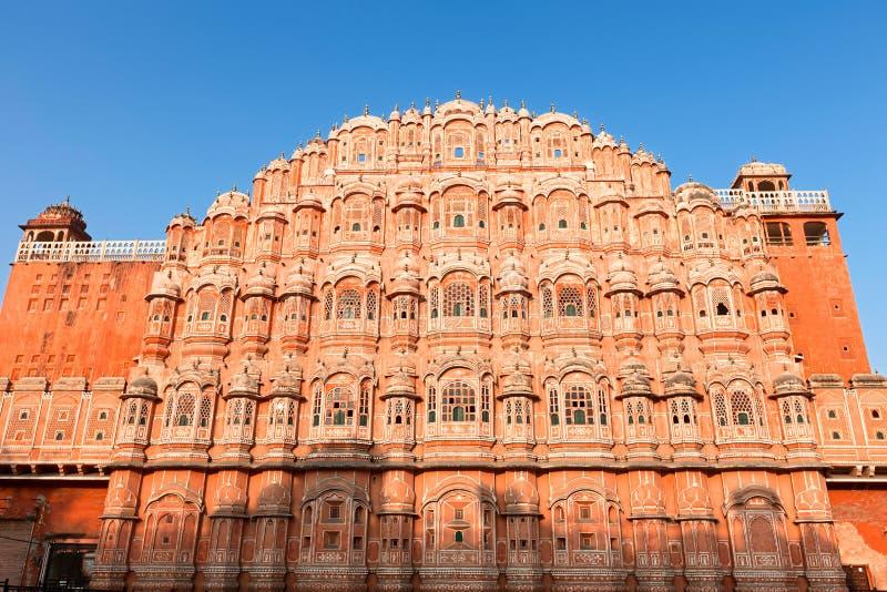 Hawa Mahal, the Palace of Winds. Jaipur, Rajasthan, India, Asia stock photo