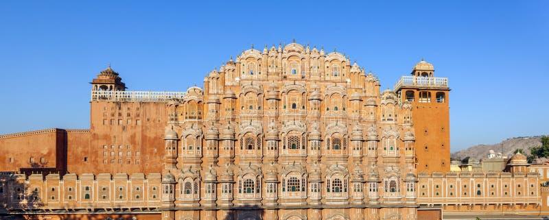 Hawa Mahal, the Palace of Winds in Jaipur. Hawa Mahal, the Palace of Winds, Jaipur, Rajasthan, India stock photography