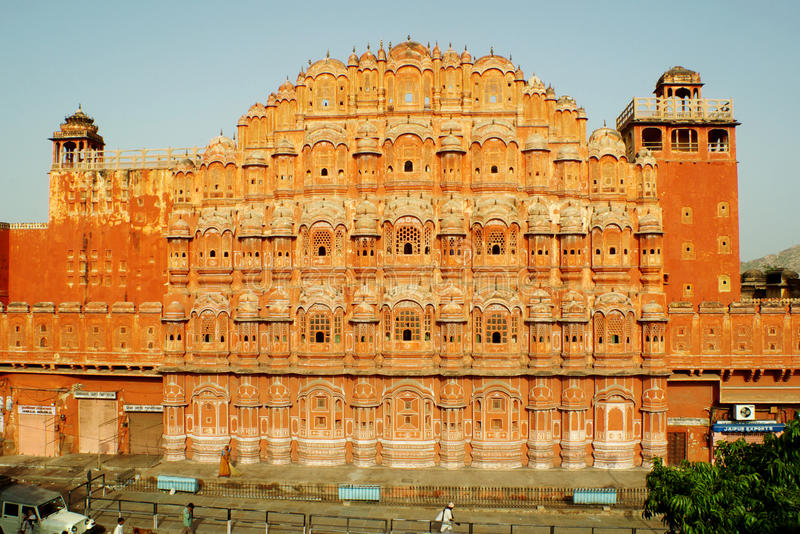 Hawa Mahal, The Palace of the Winds, Jaipur, India royalty free stock images