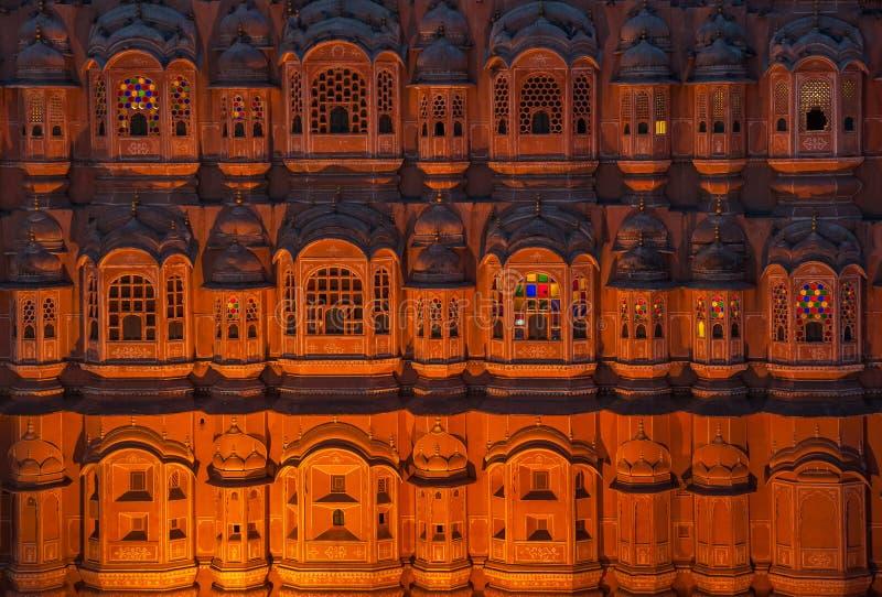 Hawa Mahal, Palace of winds, Jaipur, India. Asia stock photography