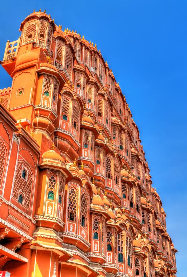 Hawa Mahal or Palace of Winds in Jaipur, India. Hawa Mahal or Palace of Winds in Jaipur - Rajasthan, India stock photography