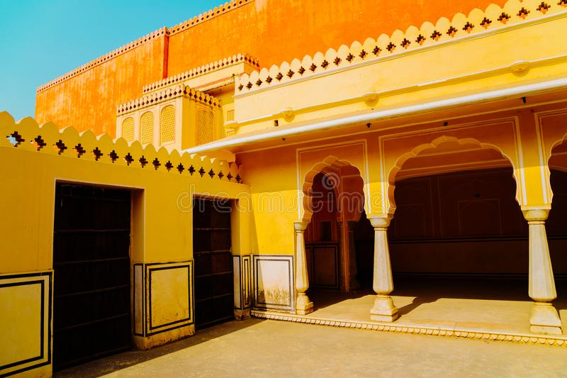 Hawa Mahal, Palace of the Winds in Jaipur, India. Hawa Mahal, Palace of the Winds in Jaipur, Rajasthan, India royalty free stock images
