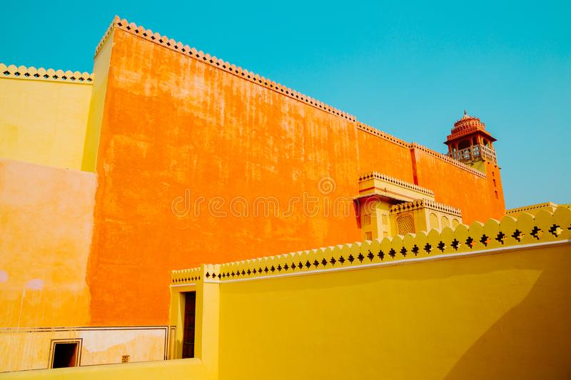 Hawa Mahal, Palace of the Winds in Jaipur, India. Hawa Mahal, Palace of the Winds in Jaipur, Rajasthan, India stock images