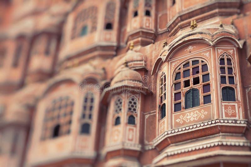 Hawa Mahal palace Palace of the Winds in Jaipur, Rajasthan.  stock image