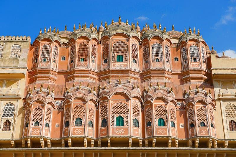 Hawa Mahal, Palace Of The Winds, Jaipur, Rajasthan. India stock photo