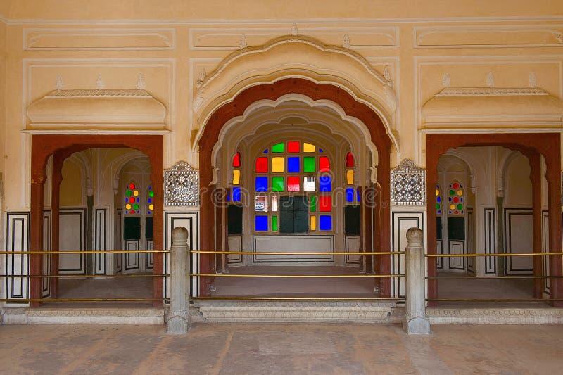 Hawa Mahal, Palace Of The Winds, Jaipur, Rajasthan. India royalty free stock images