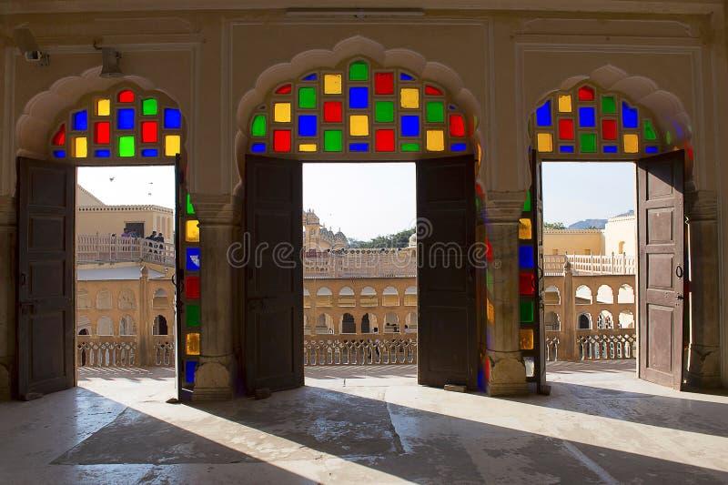 Hawa Mahal, Palace Of The Winds, Jaipur, Rajasthan. India stock image