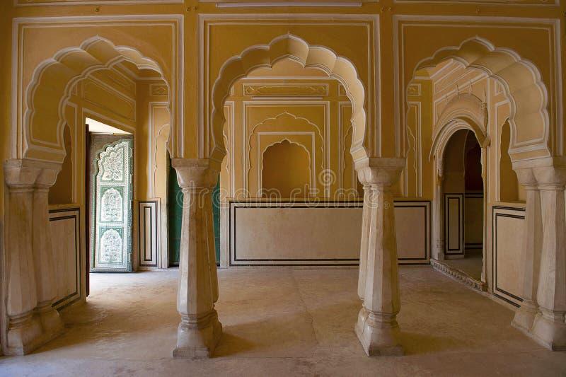 Hawa Mahal, Palace Of The Winds, Jaipur, Rajasthan. India stock images