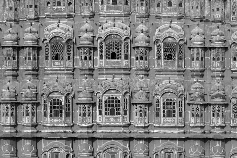 Hawa Mahal, the Palace of Winds in Jaipur. Rajasthan, India royalty free stock photography