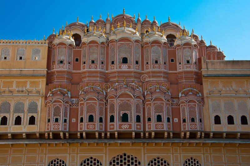 Hawa Mahal, the Palace of Winds royalty free stock image