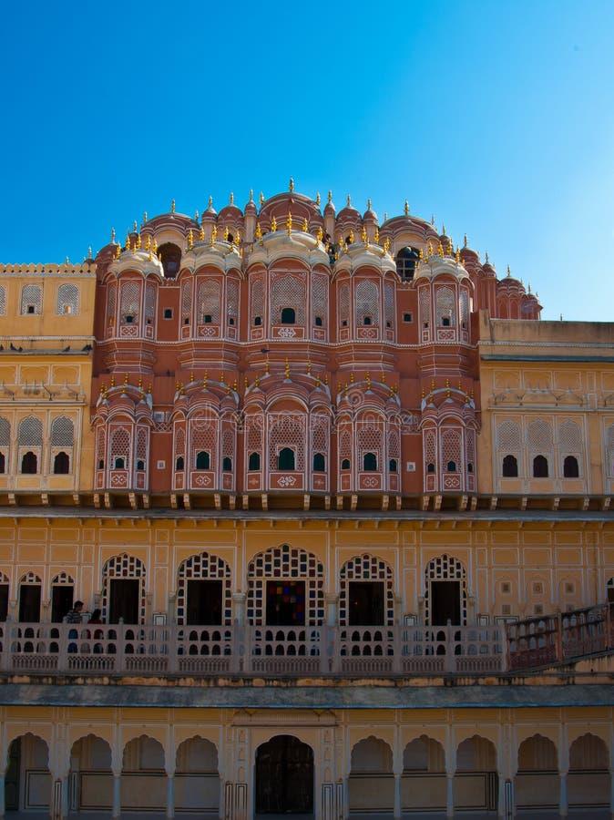 Hawa Mahal, the Palace of Winds royalty free stock photo