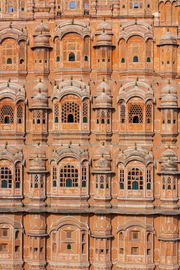 Hawa Mahal, the Palace of Winds in Jaipur, India. Hawa Mahal, the Palace of Winds in Jaipur, Rajasthan, India royalty free stock photography