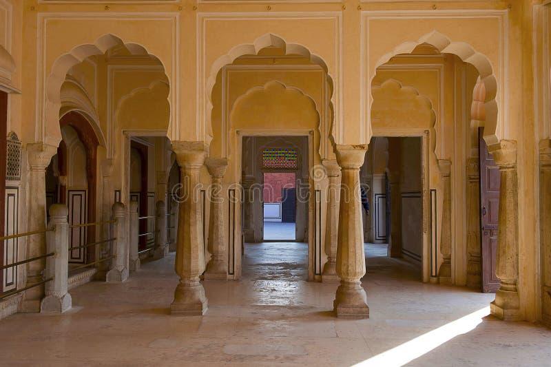 Hawa Mahal, Palace Of The Winds, Jaipur, Rajasthan. India royalty free stock photography